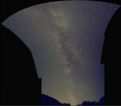 APP Strange MilkyWay Equirectangular