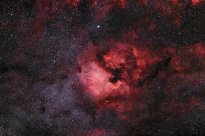 NGC 7000 105mm