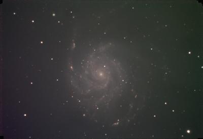 M101 N0 Flats Sulphur II session 1 St