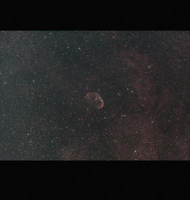 Crescent Nebula 180sec Quad frame46 St