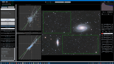 M81 M82 Black Body Extinction