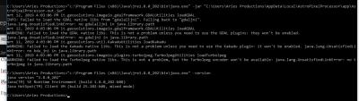 Start APP from commandline Windows 32bits JRE