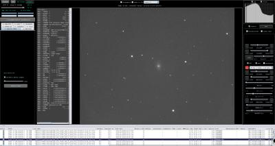 Star Analysis detect more faint stars frame