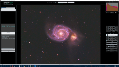M51 uncalibrated