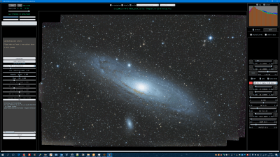 M31 uncalibrated