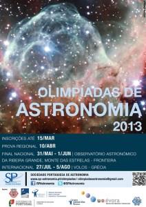 Olimpíadas de Astronomia 2013