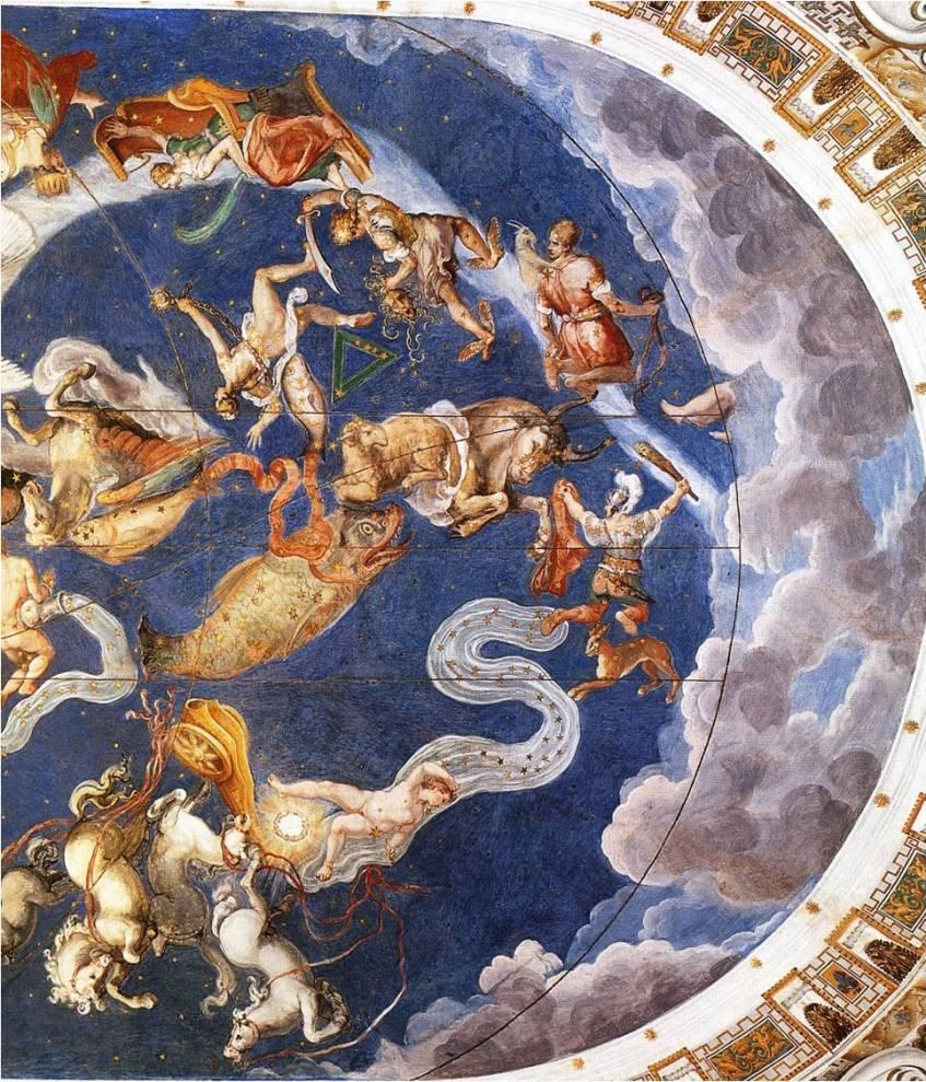 Giovanni-deVecchi-et-Raffaellino-da-Reggio-détail-de-la-Salle-de-la-Mappemonde-1574-1575-Caprarola-Palais-Farnèse