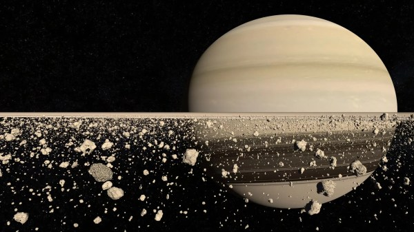 What Are Saturn's Rings Made Of
