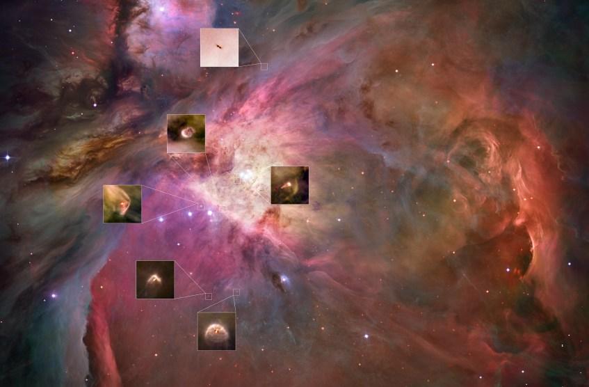 Crédito da imagem: NASA, ESA, M. Robberto (STScI/ESA), the HST Orion Treasury Project Team, & L. Ricci (ESO)