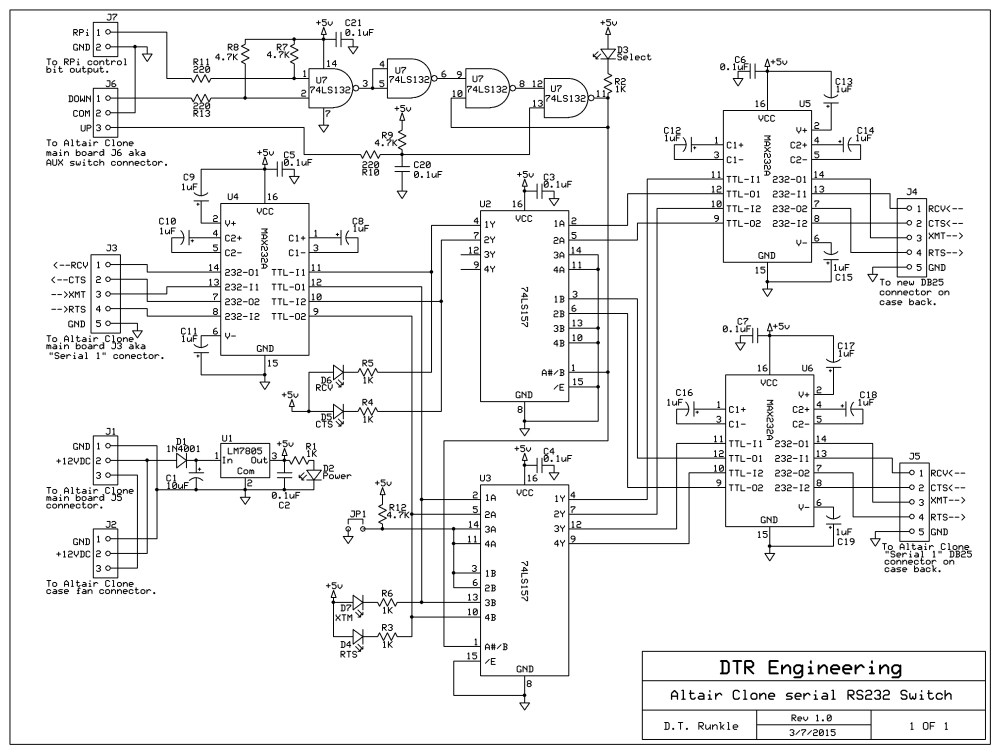 medium resolution of rs232 switch wiring use wiring diagram astrorat serial ab switch rs232 switch wiring