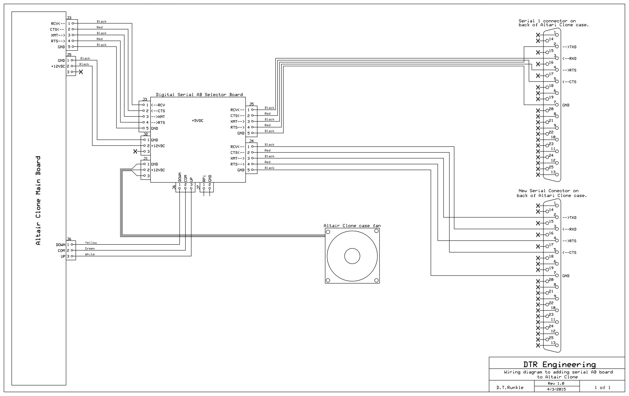 hight resolution of serial ab switch wiring