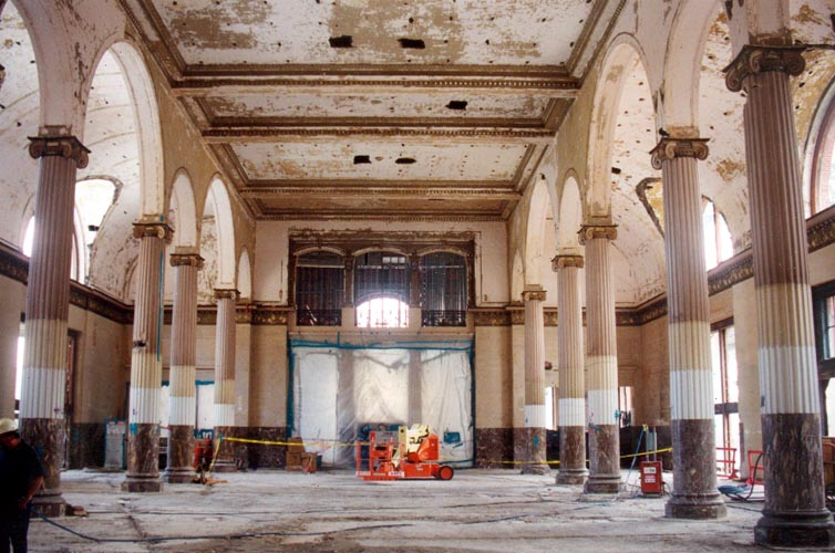 Houston Union Station The Great Hall Revealed