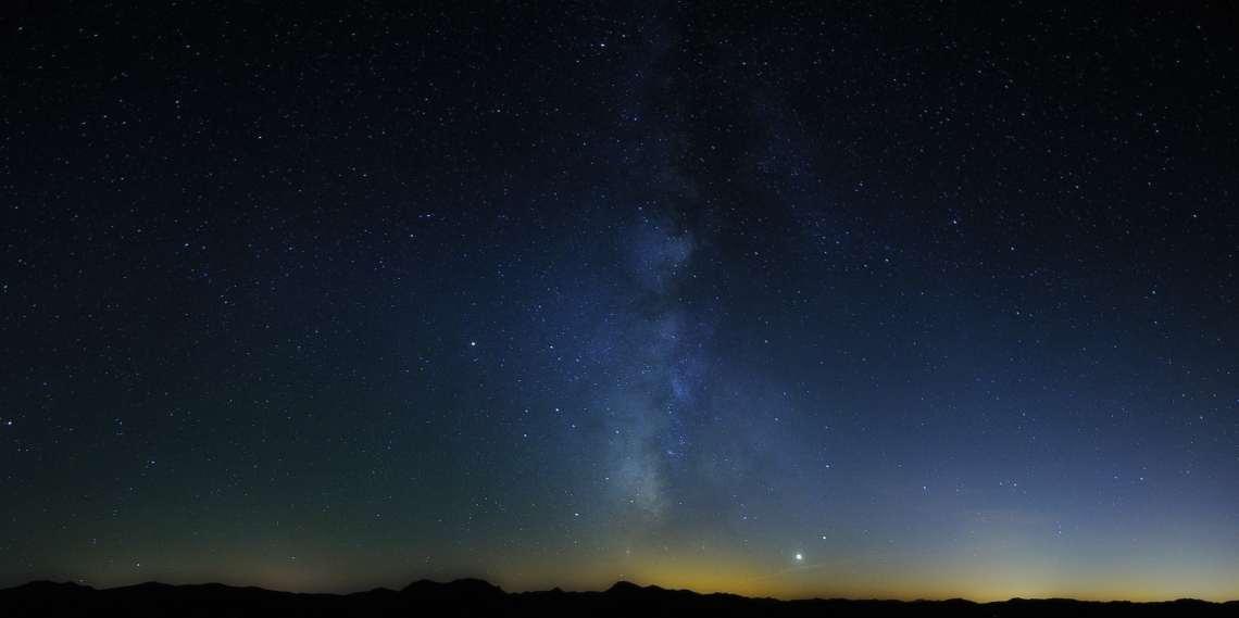 Diciembre 2017. Máximo Bustamante. Conjunción Venus-Saturno desde Santiago-Pontones.