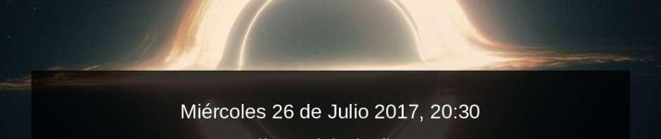 Charla impartida por Juan Manuel Mellado - Agrupación Astronómica de Málaga - SIRIO