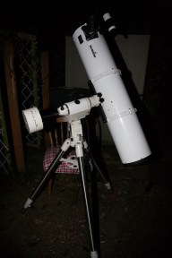 "8"" Skywatcher Newt on HEQ5"