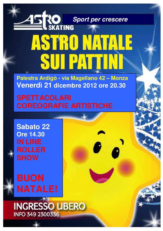 ASTRO NATALE 2012   Astroskating