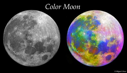 Mosaico da lua