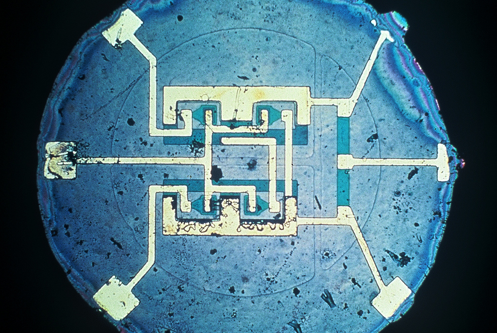 Circuit Ic Is A Microchip It Contains A Tiny Semiconductor Circuit