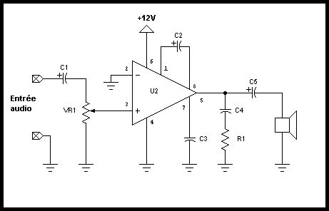 unable to make a microphone amplifier circuit using LM358