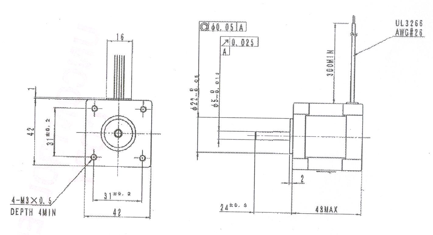 E B071 Astrosyn Hybrid Stepper Motor