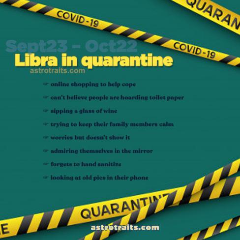 libra quarantine meme