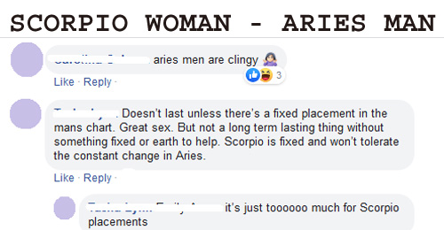 Dating scorpio woman experience