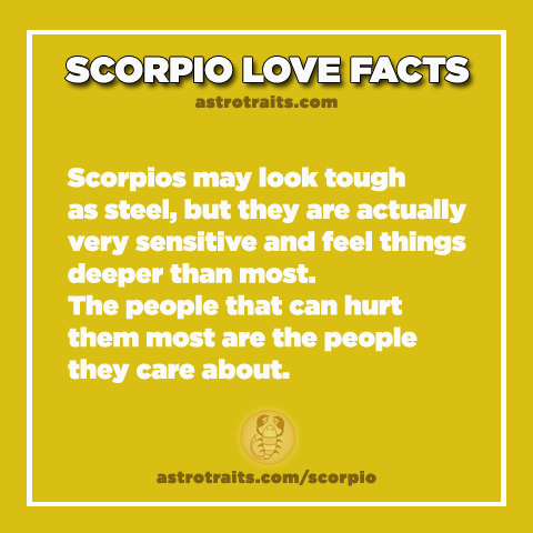 scorpio facts deep love