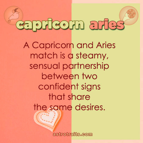 capricorn aries match