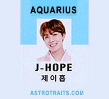 j hope zodiac sign aquarius