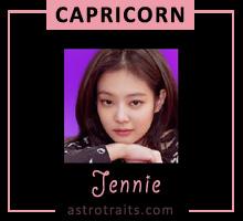 blackpink jennie zodiac sign