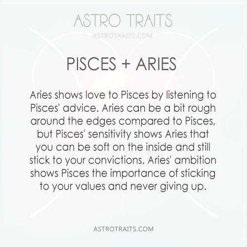 pisces + aries