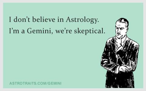 gemini ecard meme - astrology