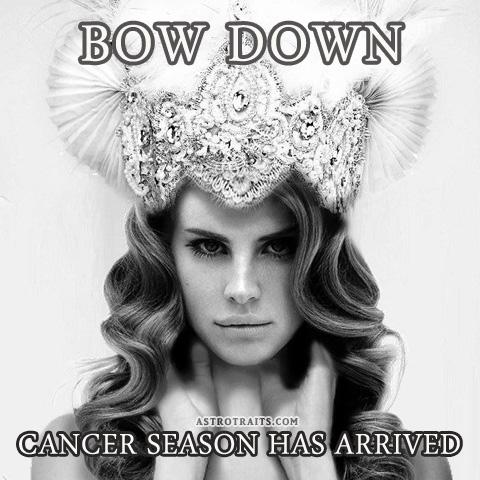 bow down cancer season memes