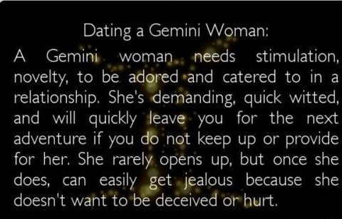 what gemini woman needs in dating