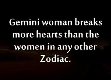 gemini woman heartbreaker