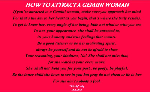 How to Attract a Female Gemini