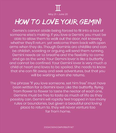 How to Love Gemini Woman