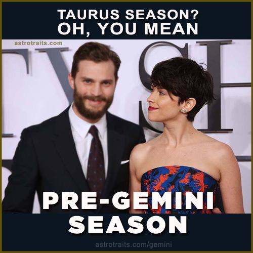 gemini season end of taurus season