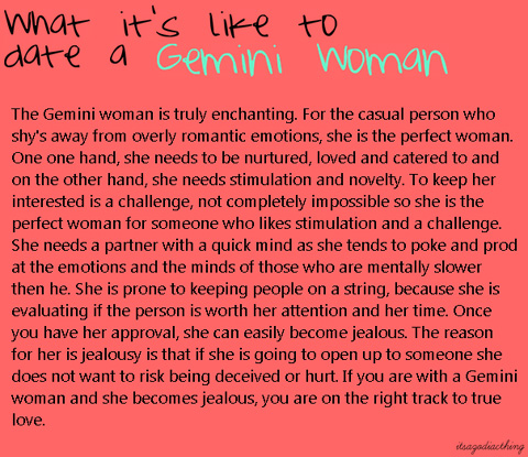 What It's Like To Date a Gemini Woman