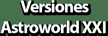 Versiones de Astroworld