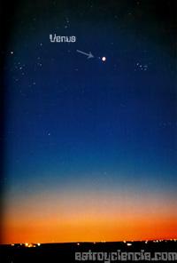 Vista del planeta Venus