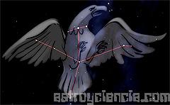 Figura de la constelación del Águila