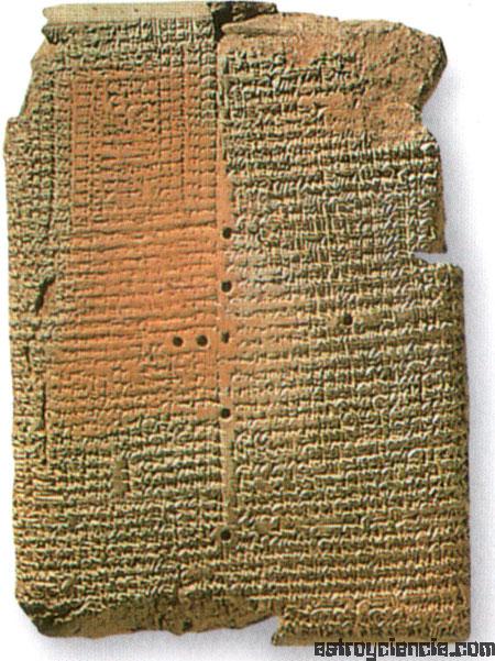 Tablilla babilónica