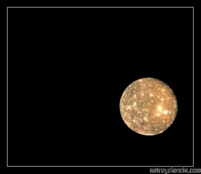 Calisto, luna de Júpiter