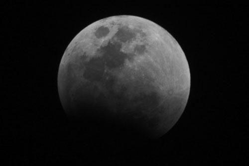 Fotografía de Juan Guzman del eclipse de Luna 2/6