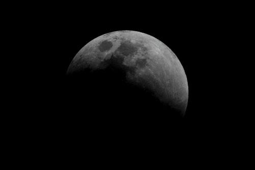 Fotografía de Juan Guzman del eclipse de Luna 3/6
