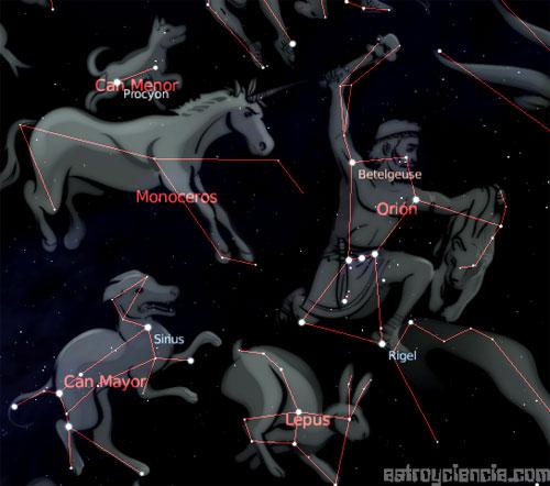 constelación del Can Menor