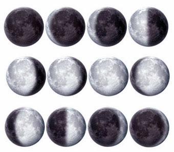 Nombre de las fases lunares – astroyciencia: Blog de astronomía y ...