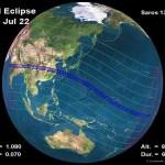 Eclipse Total de sol: 22 de julio de 2009