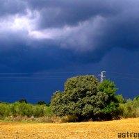 ¿Cómo calcular a que distancia está la tormenta?
